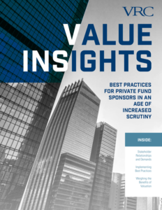 Private Fund Valuation Best Practices