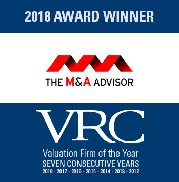 VRC 2018 Valuation Firm of the Year